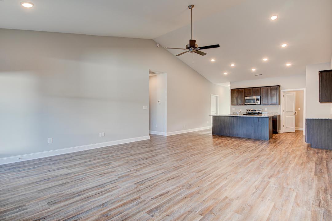 Bluebell Open Concept Living + Kitchen