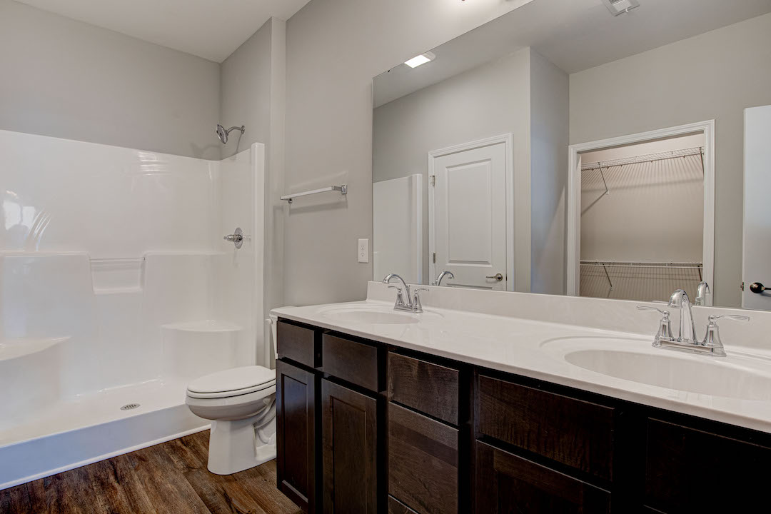 Bluebell Master Bath with Double Vanity