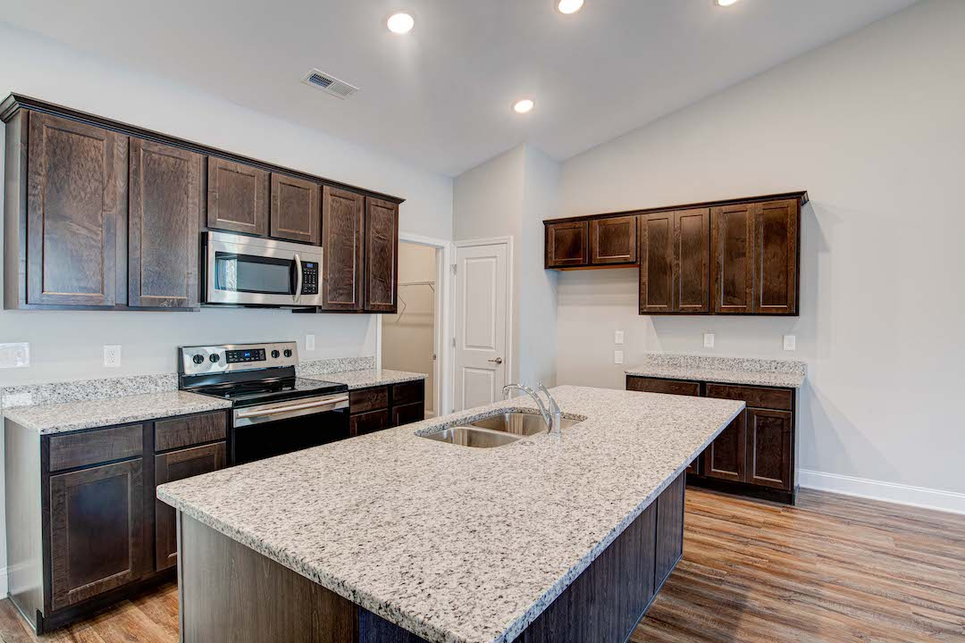 Bluebell Kitchen with Oversized Island
