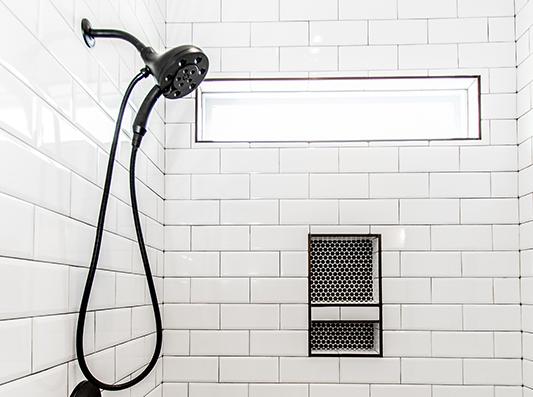 Birch Master Bath Shower