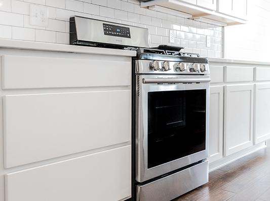 Birch Stainless Steel Appliances