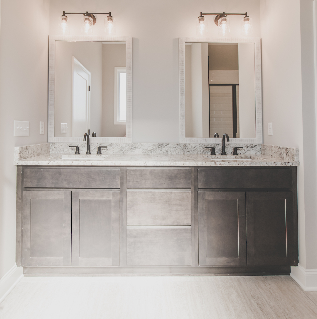 Cedar Master Bath Double Vanity