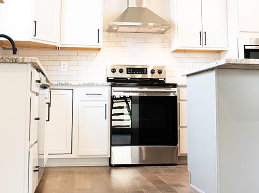 Redwood Stainless Steel Kitchen Appliances