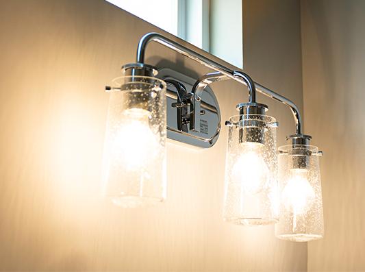 Redwood Unique Bathroom Lighting