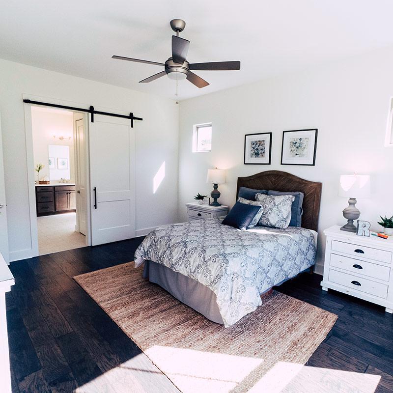 Everett Woods Bedroom Turner Homes