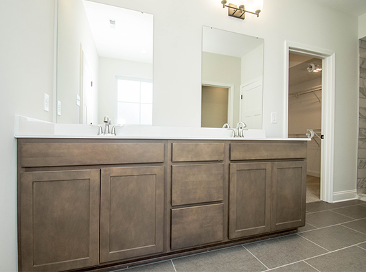 Willow Master Bath with Double Vanity