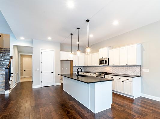 Cottonwood Open Concept Kitchen