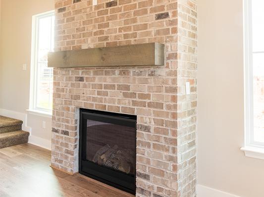 Dogwood Living Room Fireplace