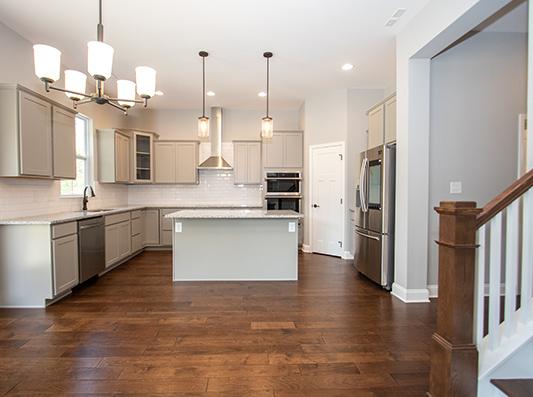 Elm Open Concept Living + Kitchen Space