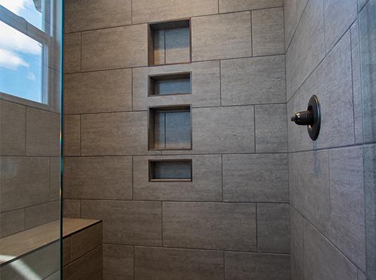 Elm Master Bath Shower