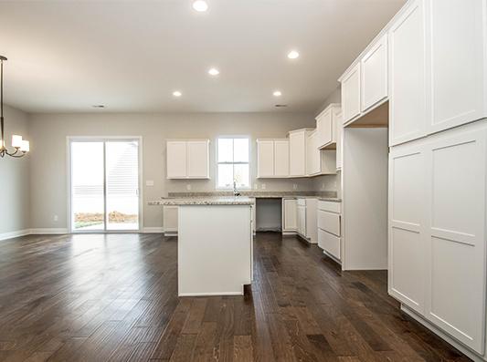Hemlock Open Concept Kitchen